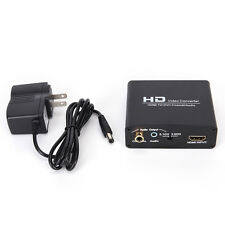 1080P HD Video HDMI to DVI Coaxial Audio Converter Adapter Box For PS4 KW