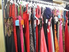LOT of 10 PROM PAGEANT HOMECOMING CRUISE FORMAL DRESSES ALL SIZE $2000 VALUE NWT