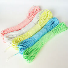 Glow In the Dark 9 Strand 550 Paracord Mil Spec Type III Survival Parachute Cord