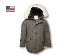 N-3B Snorkel Parka Extreme Cold Weather  ECW - LARGE - Genuine US Military
