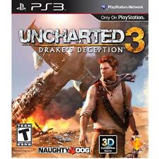 Uncharted 3: Drake's Deception  - PS3 Game - Excellent Used Condition!