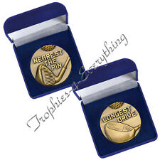 Golf Longest Drive - Nearest The Pin Medals & Case  FREE ENGRAVING