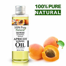 PURE APRICOT KERNEL OIL 100% NATURAL COLD PRESSED REFINED HEXANE-FREE