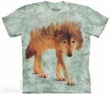 Forest Wolf T-Shirt from The Mountain - Adult S - 5X