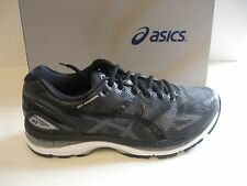 ASICS MENS NIMBUS 19 RUNNING SNEAKERS- SHOES- T700N-9099- BLACK/ ONYX / SILVER
