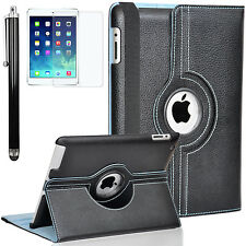 Zeox 360 Rotating PU Leather Smart Case Protective Cover Stand for iPad 2/3/4