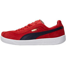 Mens Puma Dallas OG  Trainers Low Top Red White Retro Pumps Plimsolls UK 6 7 8