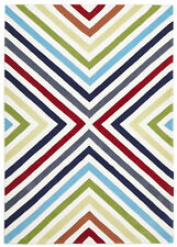 NEW Cross Roads Design Multi Rug