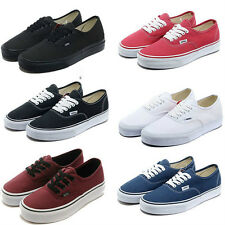 Van Mens  classic Authentic Trainer casual flats canvas shoes Sneakers
