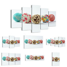 Canvas Picture 30 Shapes Print Eggs decoration candy chocolate 2898 UK
