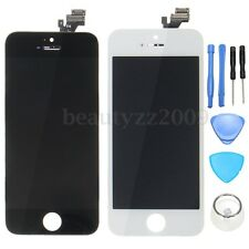 Touch Screen Digitizer LCD Display Glass Lens Assembly + Tool For Apple iPhone 5