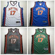 NWT New York Knicks #17 Jeremy Lin White / Blue / Green / Rhythm Fashion Jersey