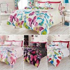 Butterfly Duvet Cover Quilt Cover with Pillow Cases Single Double King S.King
