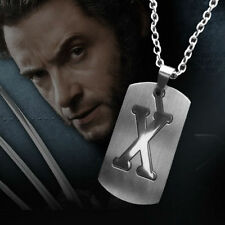 Mutant Dog-Tag X-Men Logan Wolverine Pendant Necklace