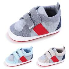 Infant Baby Boy Girl Sport Crib Shoes Toddler Sneakers Size Newborn to 18 Months