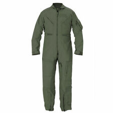 FLIGHT SUITs Listing of NOMEX CWU 27P - SAGE GREEN 34 to 48 - New