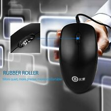 1000dpi Wired Optical Mouse Slim Mini Wired Mice USB for PC Laptop V4000 FG