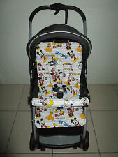 FUNKY BABYZ-Mickey mouse reversible universal pram liner-Size,Buy Covers options