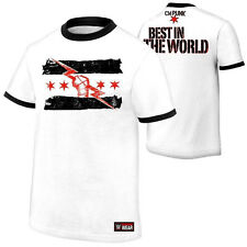 WWE CM PUNK BEST IN THE WORLD T SHIRT -  NEW - Adult Medium, Large And XL