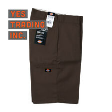 "BROWN Dickies Men's 13"" Multi-Pocket Pocket Loose Fit Work Shorts Style # 42283"