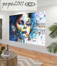 Australia  girl Huge Art wall Painting graffiti street urban Authentic  By Pepe