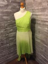 Love Label Layered One Shoulder Sleeveless Dress Size 14