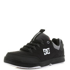 Mens Dc Shoes Syntax SN Black White Red Casual Skate Trainers Shu Size