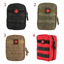 Emergency Camping Travel Carry Bag Outdoors Tactical EMT Medical First Aid Pouch