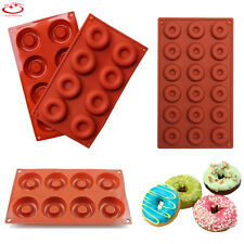 Silicone Donut Muffin Mold Chocolate Cake Candy Cookie Cupcake Baking Pan Mould