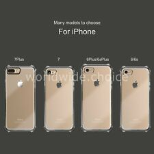 New Transparent Crystal Clear Case for iPhone 7 Plus Gel TPU Soft Cover Skin