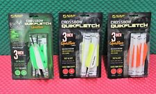 "NAP Crossbow Quikfletch QuikSpin Vane System 3"" Model 6 Pack CHOOSE YOUR COLOR!!"