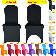 New Chair Cover Spandex Lycra Cover Wedding Banquet Anniversary Party Decoration