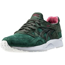 Asics Onitsuka Tiger Gel-lyte V Mens Trainers Dark Green New Shoes
