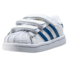 adidas Superstar Foundation Cf I Toddler Trainers White Blue New Shoes