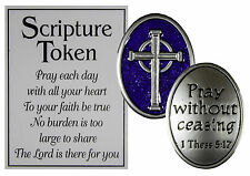 Ganz Holy Scripture Double Sided Pocket Charm with Story Card