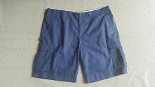 NWT men's Tommy Hilfiger Classic Cargo shorts size 42 navy blue