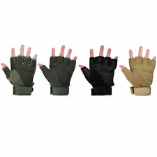 A Pair Cycling Gloves Half Finger Bike Gloves Autumn Winter Bicycle Gloves VE