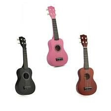 "Profession 21"" Soprano Ukulele 4 Strings Mini Guitar Acoustic Musical Instrument"
