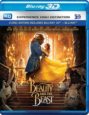 Beauty and the Beast (Blu-ray 3D + Blu-ray)(2 Disc)(All)(New)(Digital Available)