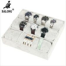 3 grid long bar pillow display Tray Bracelet  Watch display Box Pprops Jewelry