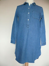 Madewell Chambray popover shirt dress S (UK 8) *Last One*