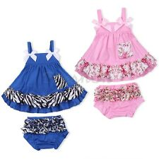 Cute Newborn Infant Baby Girl Romper Bodysuit Jumpsuit Outfits Sunsuit Clothes