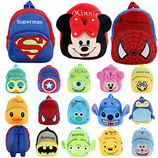 Kids Girls Boys Cartoon Toddler Backpack Doll Schoolbag Children Baby Small Bag