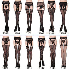 Sexy Lace Hanging Pantyhose Suspender Stocking Tights Socks Hosiery Intimate