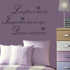 Laughter Large Vinyl Wall Quote Large Art Wall Decor Big Vinyl Quote niq43