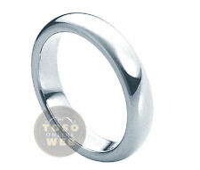 Ladie's 6mm Classic Dome Pipe-Cut Edge High Polish Tungsten Ring TS0150
