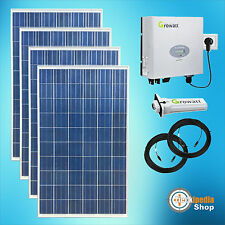 940 Watts Plug -and-Play Solar system Photovoltaic complete SET for Sockets