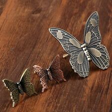 Antique Butterfly Cupboard Door Knobs Handles Kitchen Cabinet Knob Drawer Pulls