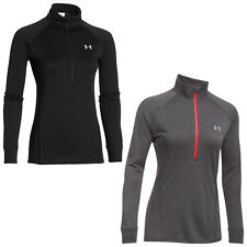 Under Armour Womens Tech Half Zip Long Sleeve Top - New Ladies Training Pullover