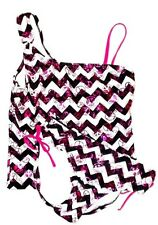 NWT Justice Girls swim wear bathing suit summer clothes tankini swimsuit 6 NEW